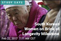 South Korean Women on Brink of Longevity Milestone