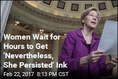Dozens Pack Tattoo Shop for 'She Persisted' Ink