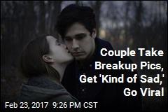 Couple Take Breakup Pics, Get 'Kind of Sad,' Go Viral
