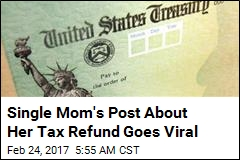 Single Mom's Post About How She Used Tax Return Goes Viral