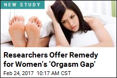 Researchers Offer Remedy for Women's 'Orgasm Gap'