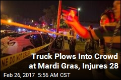 Car Plows Into Crowd at Mardi Gras, Injures 28