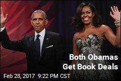 Barack, Michelle Obama Get Book Deals