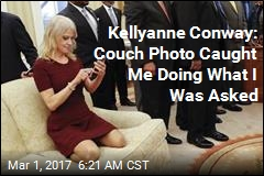 Kellyanne Conway Addresses That Couch Photo