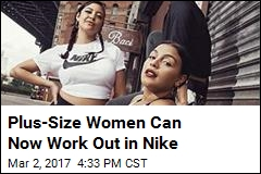 Plus-Size Women Can Now Work Out in Nike