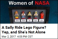 A Sally Ride Lego Figure? Yep, and She's Not Alone
