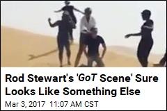 Rod Stewart Reenacting GoT Looks Like Something Else