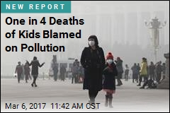 One in 4 Deaths of Kids Blamed on Pollution