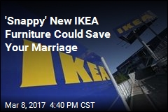 'Snappy' New IKEA Furniture Could Save Your Marriage