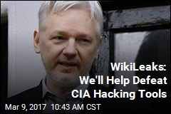 WikiLeaks: We'll Help Defeat CIA Hacking Tools