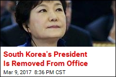 South Korea's President Is Removed From Office