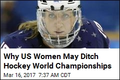 US Women's Hockey: Progress in Pay or No Championship Play