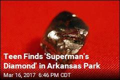 Teen Finds 7.44 Carat Diamond in Arkansas Park
