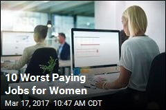 10 Worst Paying Jobs for Women