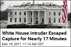 White House Intruder Escaped Capture for Nearly 17 Minutes
