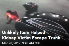 Unlikely Item Helped Kidnap Victim Escape Trunk