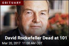 David Rockefeller Dead at 101