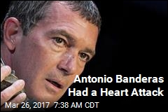 Antonio Banderas Had a Heart Attack