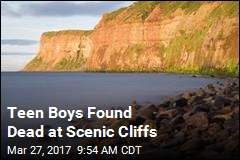 Teen Boys Found Dead at Scenic Cliffs