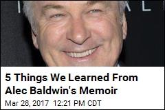 5 Things We Learned From Alec Baldwin's Memoir