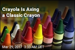 A Classic Crayon Is Getting Cut