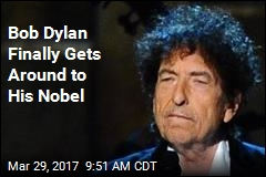 Bob Dylan Is Finally Going to Pick Up His Nobel