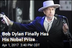 Almost 6 Months Later, Bob Dylan Has His Nobel Prize