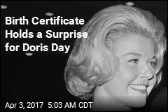 Birth Certificate Holds a Surprise for Doris Day