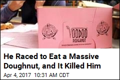 Man Chokes to Death During Doughnut-Eating Challenge