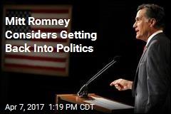 Mitt Romney's Next Campaign: Senator?