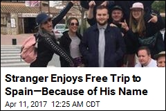 Stranger Enjoys Free Trip to Spain—Because of His Name