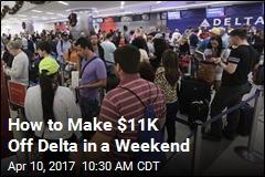 Amid Delta Chaos, Family Scores $11K