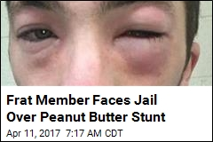 Student Could Go to Jail Over Peanut Butter 'Hazing'
