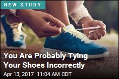 You Are Probably Tying Your Shoes Incorrectly