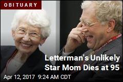 David Letterman's Mom Dies at 95
