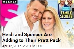 Heidi and Spencer Are Adding to Their Pratt Pack