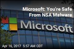 Microsoft: You're Safe From NSA Malware