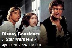 Disney Considers a Star Wars Hotel
