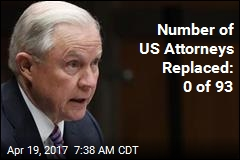 Jeff Sessions Still Has All 93 US Attorney Spots to Fill