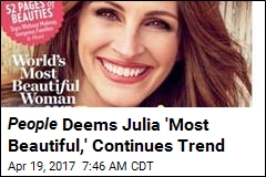 Julia Roberts Is 'World's Most Beautiful Woman' for 5th Time