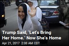 Trump Intervenes to Bring US Prisoner Home From Egypt