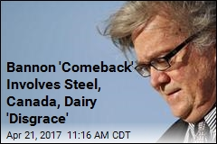 Trump's Move on Steel Seen as a Win for Bannon