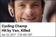 Cycling Champ Hit by Van, Killed