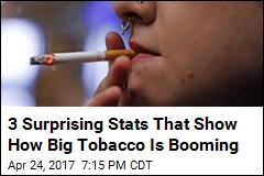 3 Surprising Stats That Show How Big Tobacco Is Booming