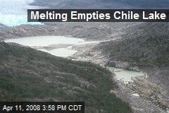 Melting Empties Chile Lake