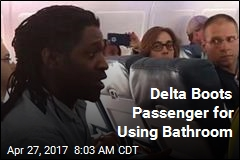 Delta Boots Passenger for Using Bathroom