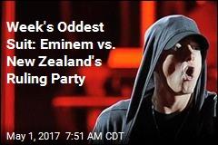 Week's Oddest Suit: Eminem vs. New Zealand's Ruling Party