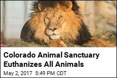 Colorado Animal Sanctuary Euthanizes All Animals
