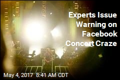 Experts Issue Warning on Facebook Concert Craze