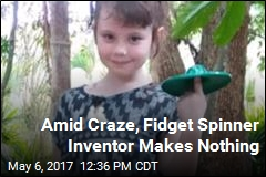 Amid Craze, Fidget Spinner Inventor Makes Nothing